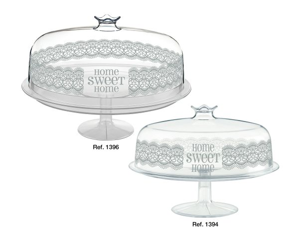 Cakestands with lid Home Sweet Home