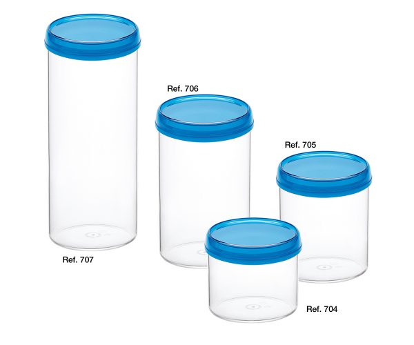 Top all-purpose round canisters