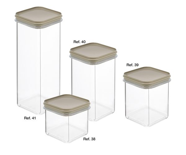 All-purpose square canisters