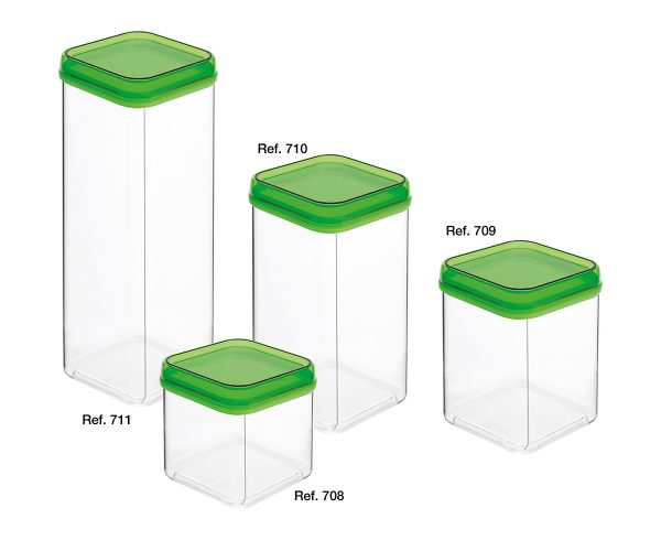 Top all-purpose square canisters