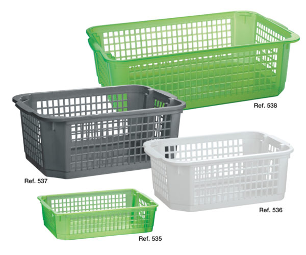Rio all-purpose stackable baskets
