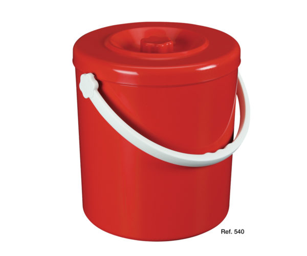 Container with attachable lid