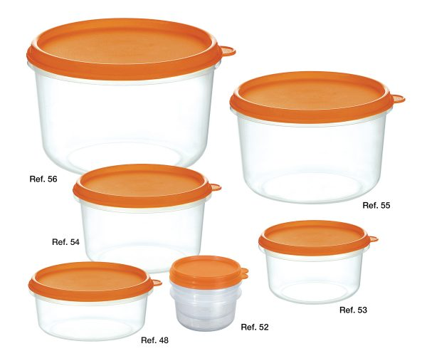 Saturno high freezer containers