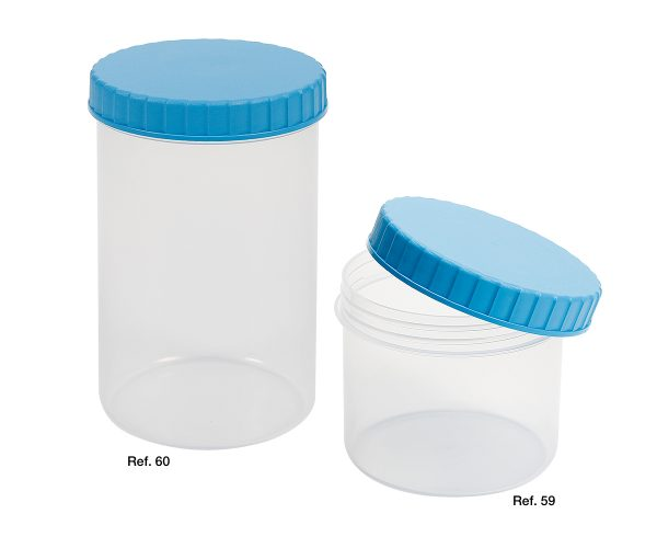 Screw closure containers