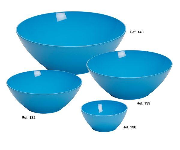 Freezing bowls