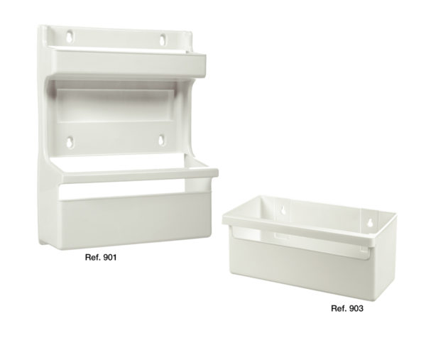 Shelf holders for accessories