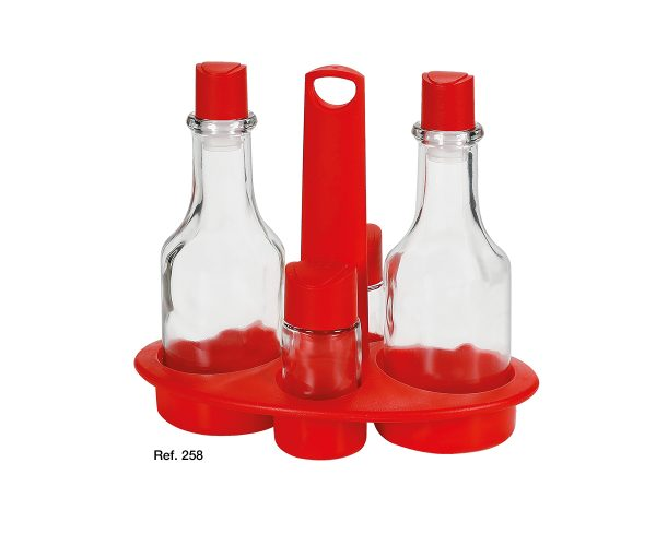 Oasi glass cruet set