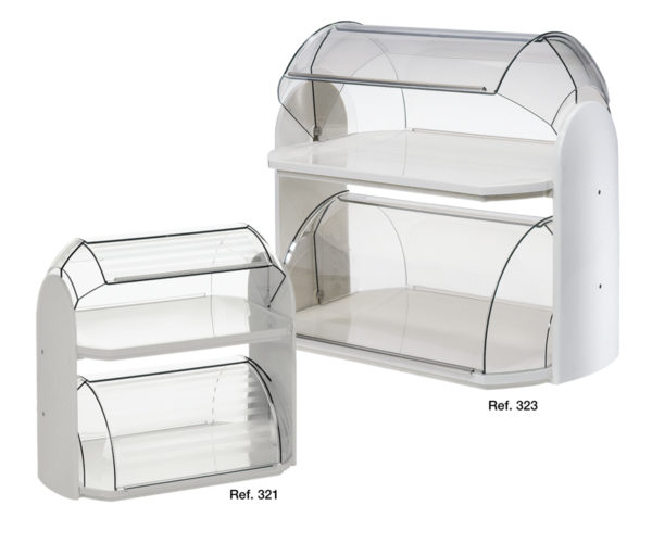Cosmo double-tray pastry holders