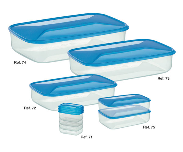 Microwave-Freezer Rectangular Boxes