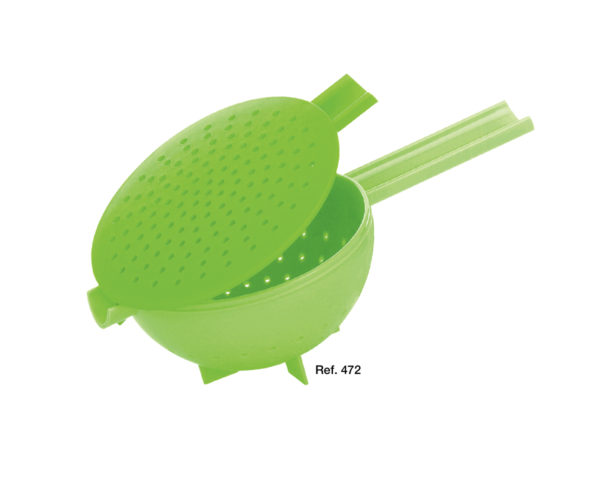 Oasi colander with handle and lid