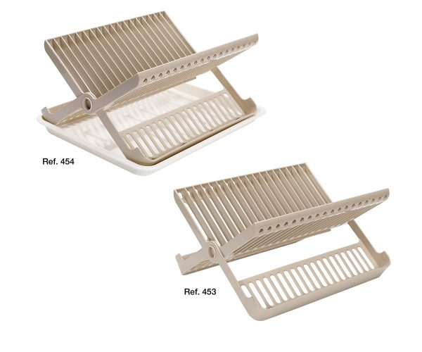 Folding plates racks