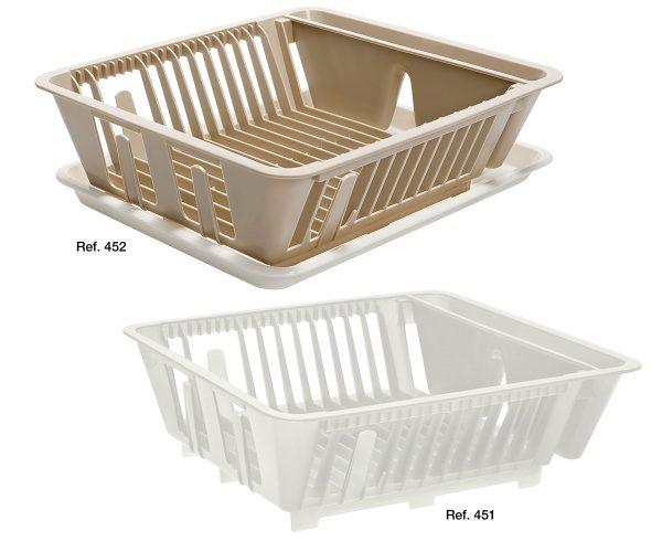 Sink plate racks