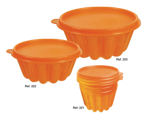 Pudding moulds with lid