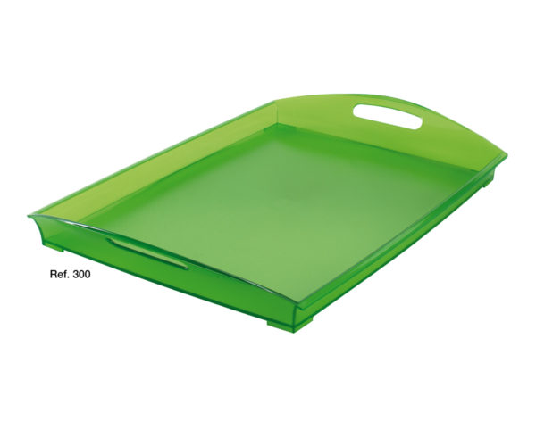 Oasi rectangular tray