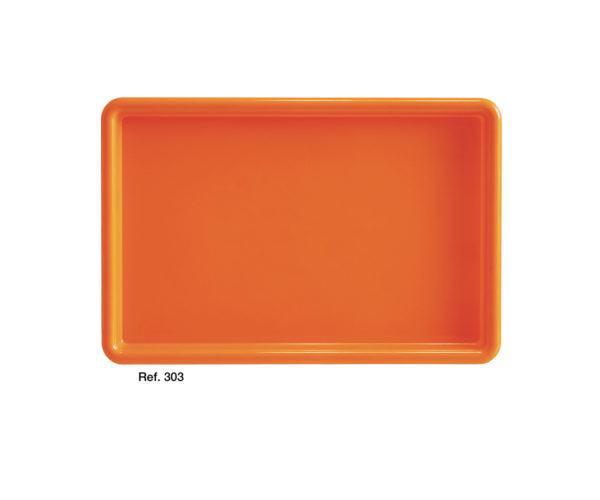 Saturno rectangular tray